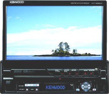 "Kenwood KVT-829DVD. Monitor de 7"" con DVD/AAC/WMA/MP3/CD"